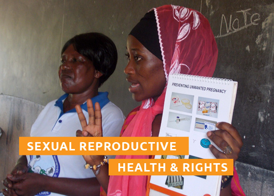 Sexually Reproductive Health and Rights