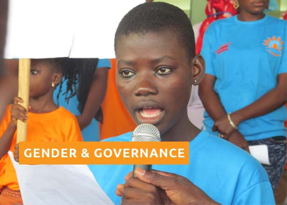 Gender and Governanace